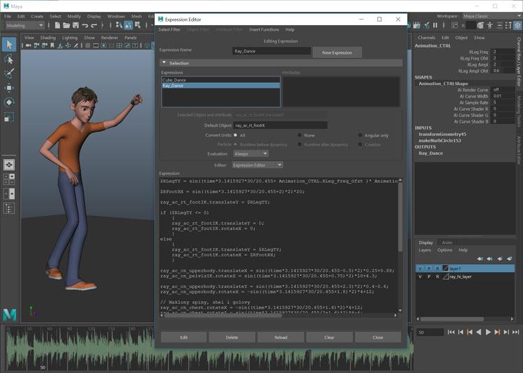 Как сделать анимацию персонажа процедурно? Онлайн курс из 11-ти видео уроков по анимации.