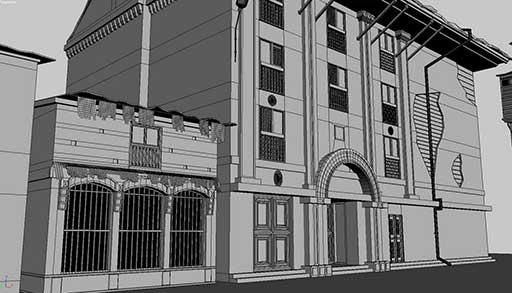 Работа студента онлайн школы анимации и компьютерной графики CGTarian